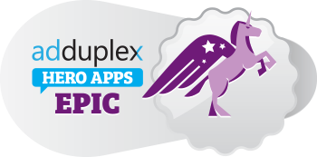 Adduplex EPIC rating!